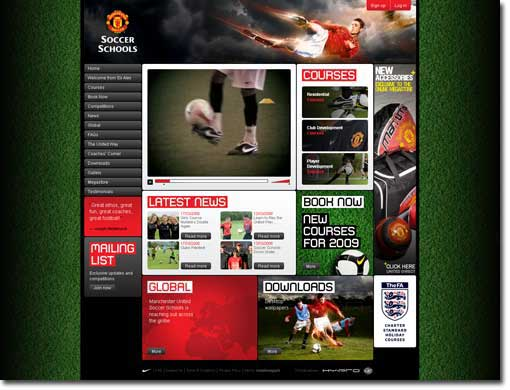 manchester united soccer schools Photo